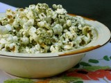 Recipe: Matcha Popcorn Topper