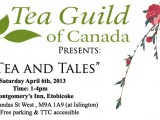 Tea, Stories and Food Pairing