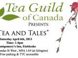 Tea, Stories and Food Pairing