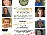 California Here I Come! World Tea Expo 2014