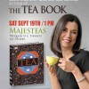 The Tea Book update: Book signing at Majesteas, Toronto