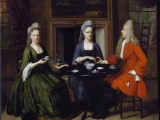 A Closer Look:                  Taking Tea in 1715…